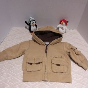Baby Gap cute military style knit jacket